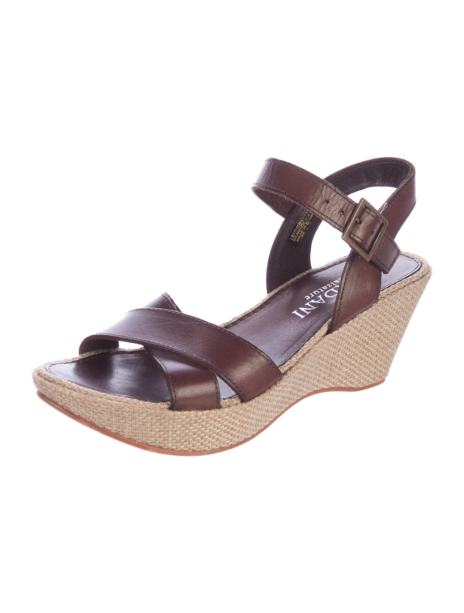 Cordani Leather Crossover Wedge Sandals outlet the cheapest cheap clearance store clearance clearance store buy cheap very cheap cheap price outlet sale mAkrVHn9oh
