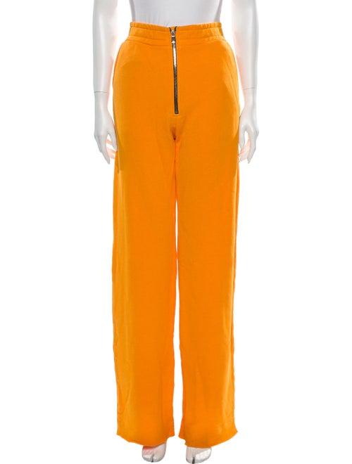 Cotton Citizen Wide Leg Pants Orange