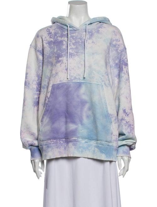 Cotton Citizen Tie-Dye Print Crew Neck Sweatshirt
