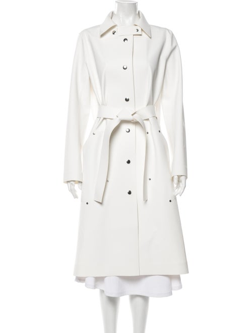 Courrèges Trench Coat White