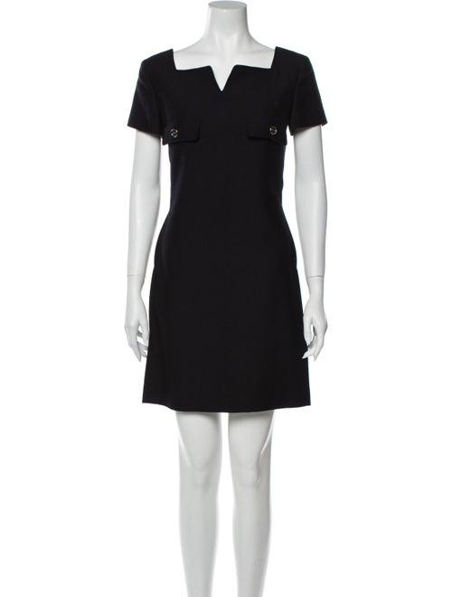 Courrèges Wool Mini Dress Wool