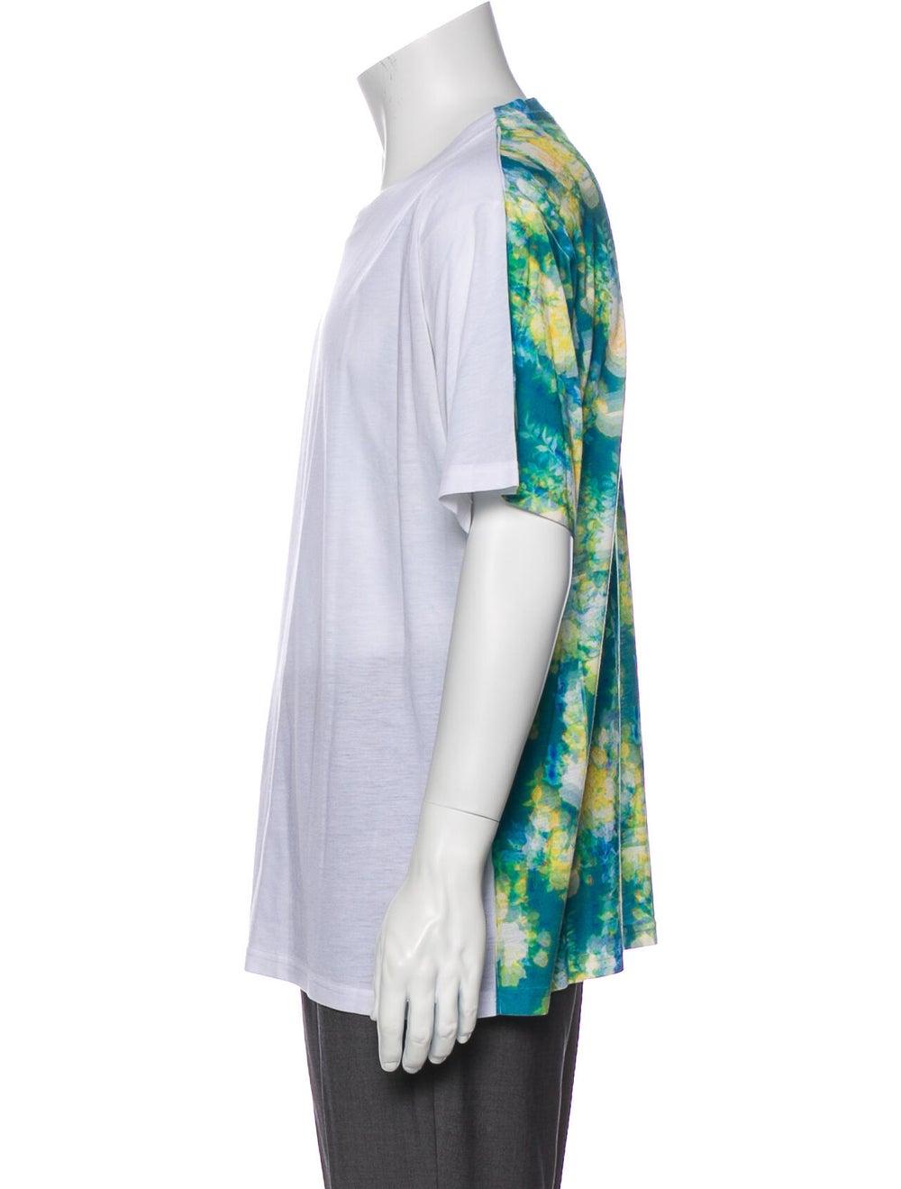 Craig Green Tie-Dye Print Crew Neck T-Shirt Green - image 2