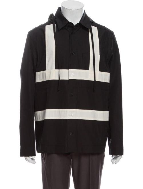 Craig Green Colorblock Pattern Long Sleeve Shirt G