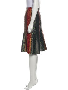 Carlisle Printed Knee-Length Skirt