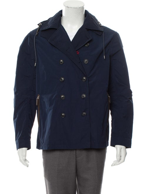 Cremieux Woven Summer Peacoat w/ Tags navy