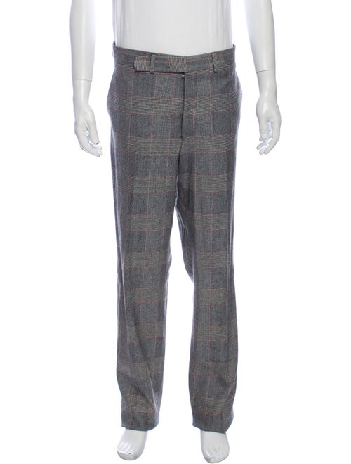 Cremieux Houndstooth Print Dress Pants w/ Tags Gre
