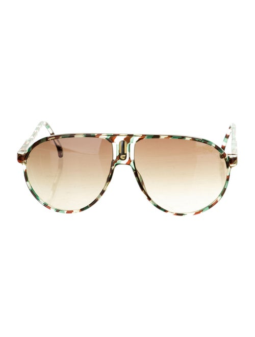 Carrera Gradient Aviator Sunglasses Green