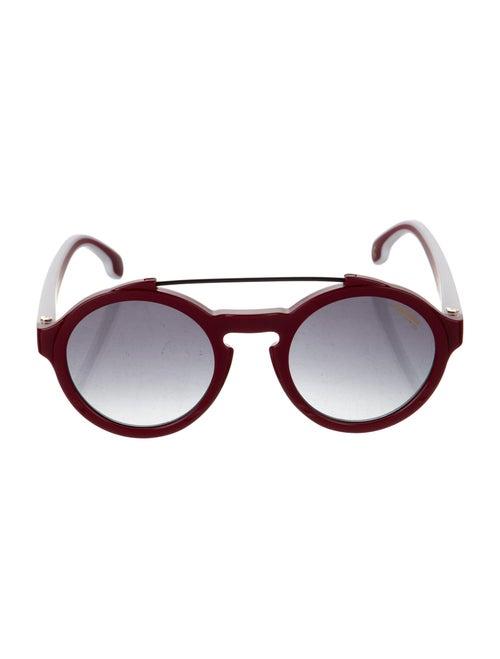 Carrera Round Gradient Round Sunglasses Red - image 1