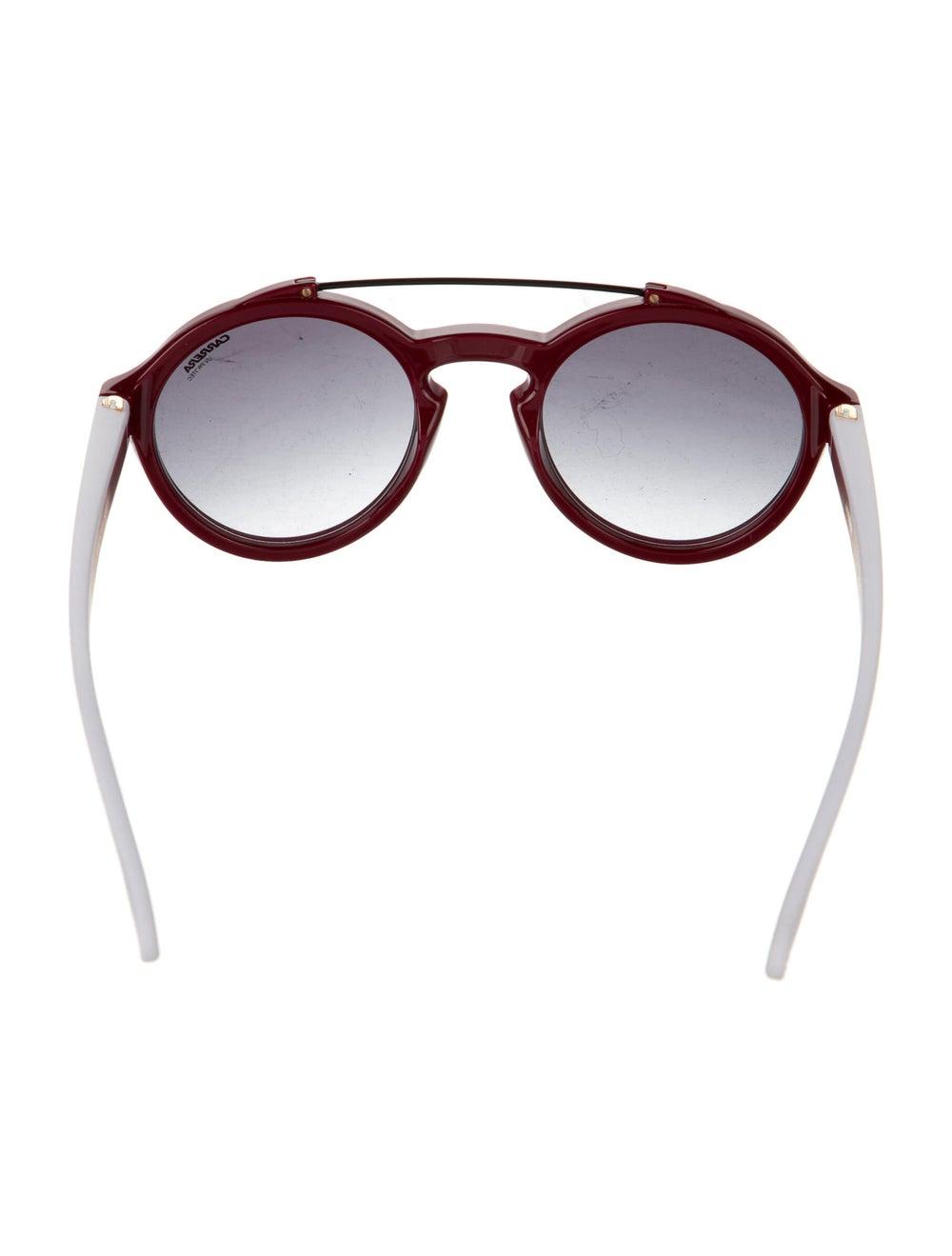 Carrera Round Gradient Round Sunglasses Red - image 3