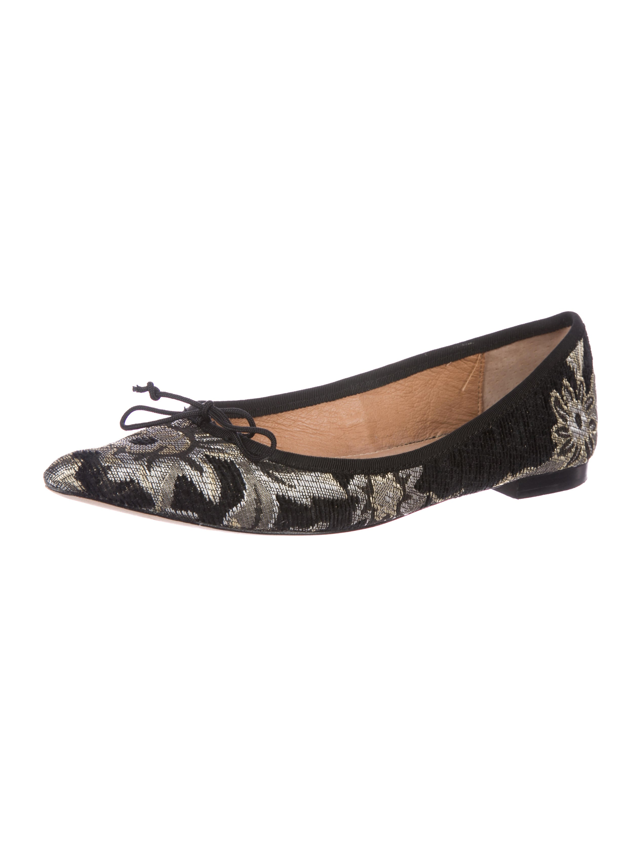top quality cheap price free shipping cheapest price Corso Como Jacquard Pointed-Toe Flats n9D8dW
