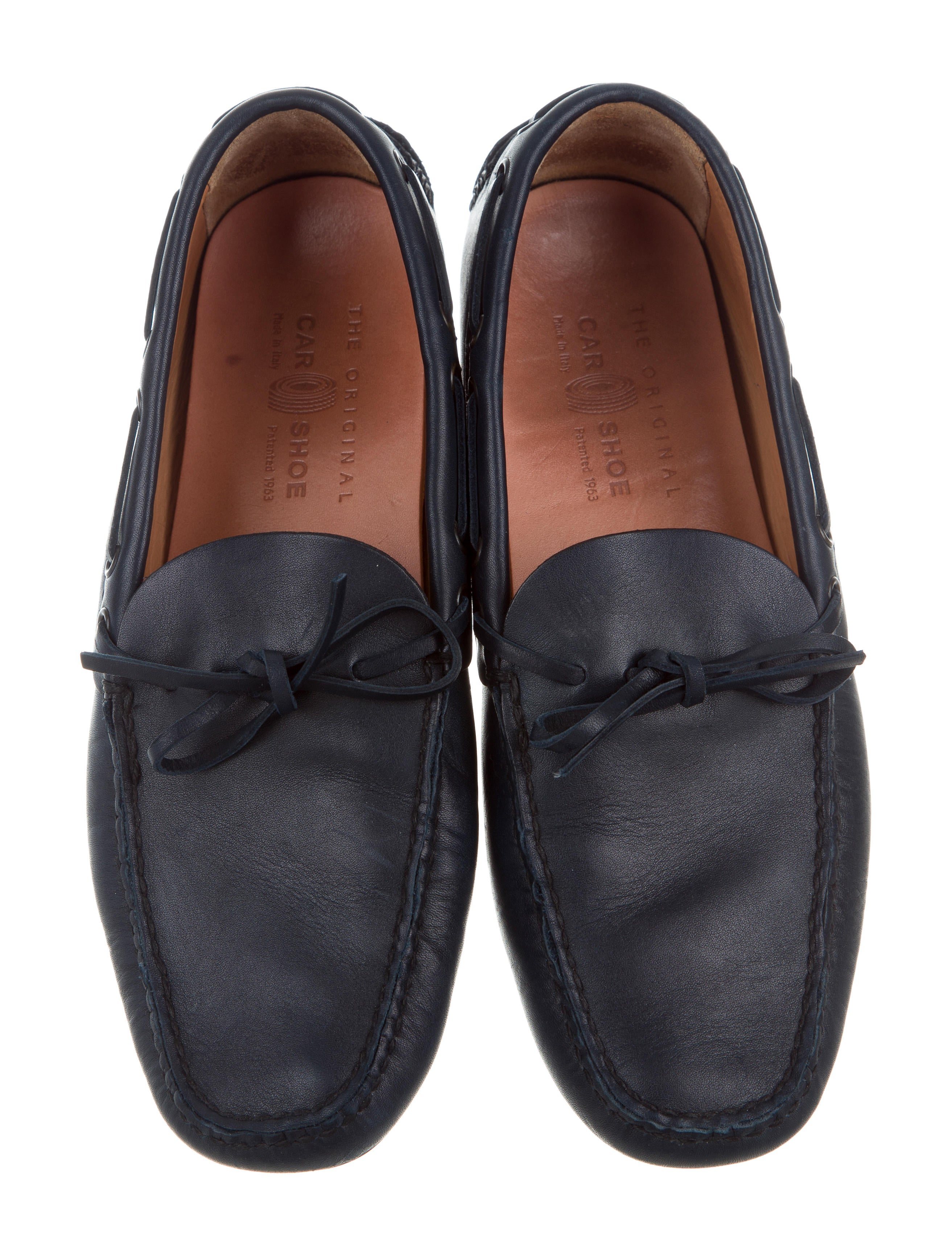 car shoe leather driving loafers shoes wcs20123 the