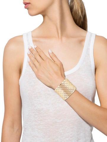Lattice Cuff Bracelet