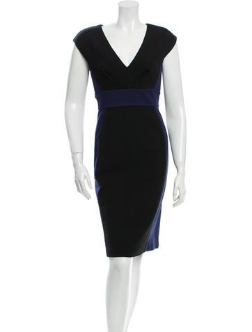 Catherine Malandrino Sleeveless Colorblock Dress