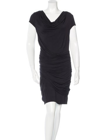 Catherine Malandrino Ruched Midi Dress None