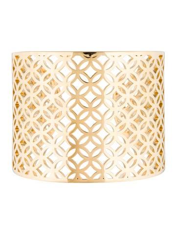 Catherine Malandrino Lattice Cuff Bracelet None