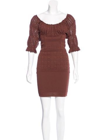 Catherine Malandrino Knit Midi Dress None