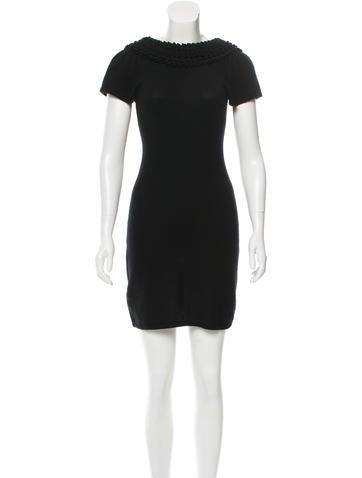 Catherine Malandrino Cashmere Sweater Dress None
