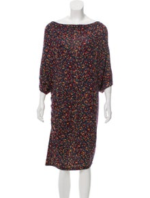 74c1f9bbc1 Catherine Malandrino. Wool Printed Dress
