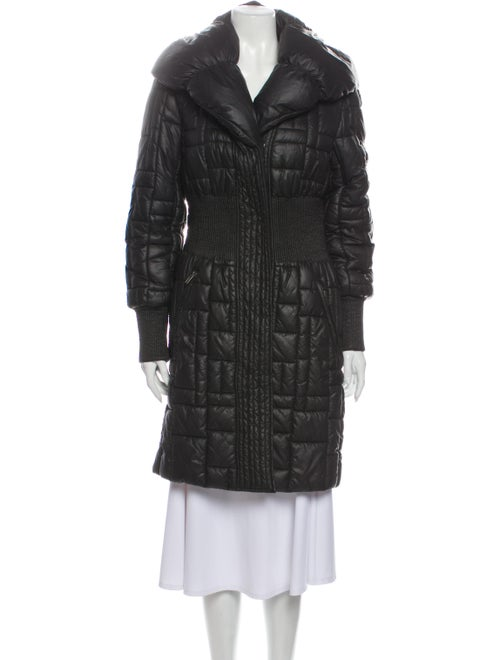 Catherine Malandrino Faux Fur Coat Black