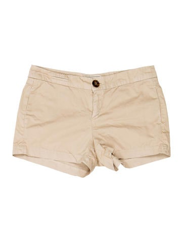 Khaki Mini Shorts