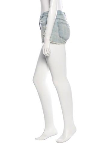 Mini Frayed Shorts