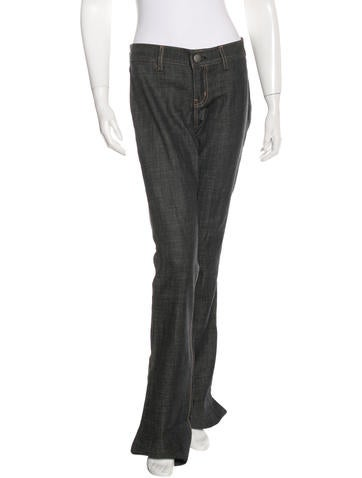 Wide-Leg Rodeo Jeans w/ Tags