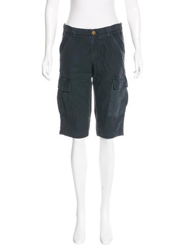Current/Elliott Knee-Length Utilitarian Shorts w/ Tags