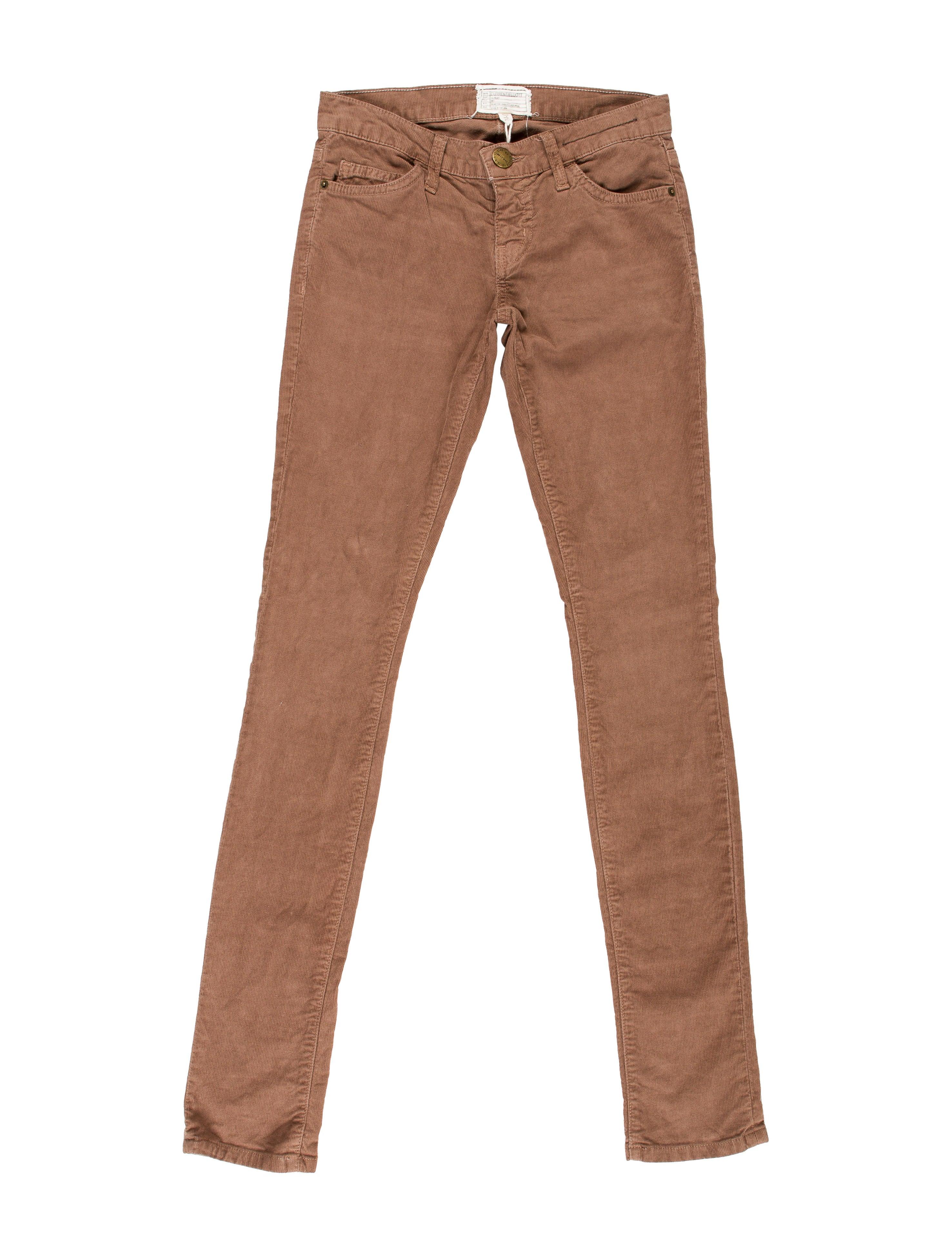 Lastest Vince Second Skin Skinny Corduroy Pants In Beige Camel  Lyst