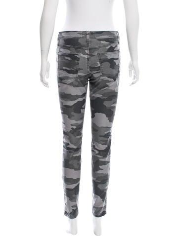 Camo Print Skinny Pants w/ Tags