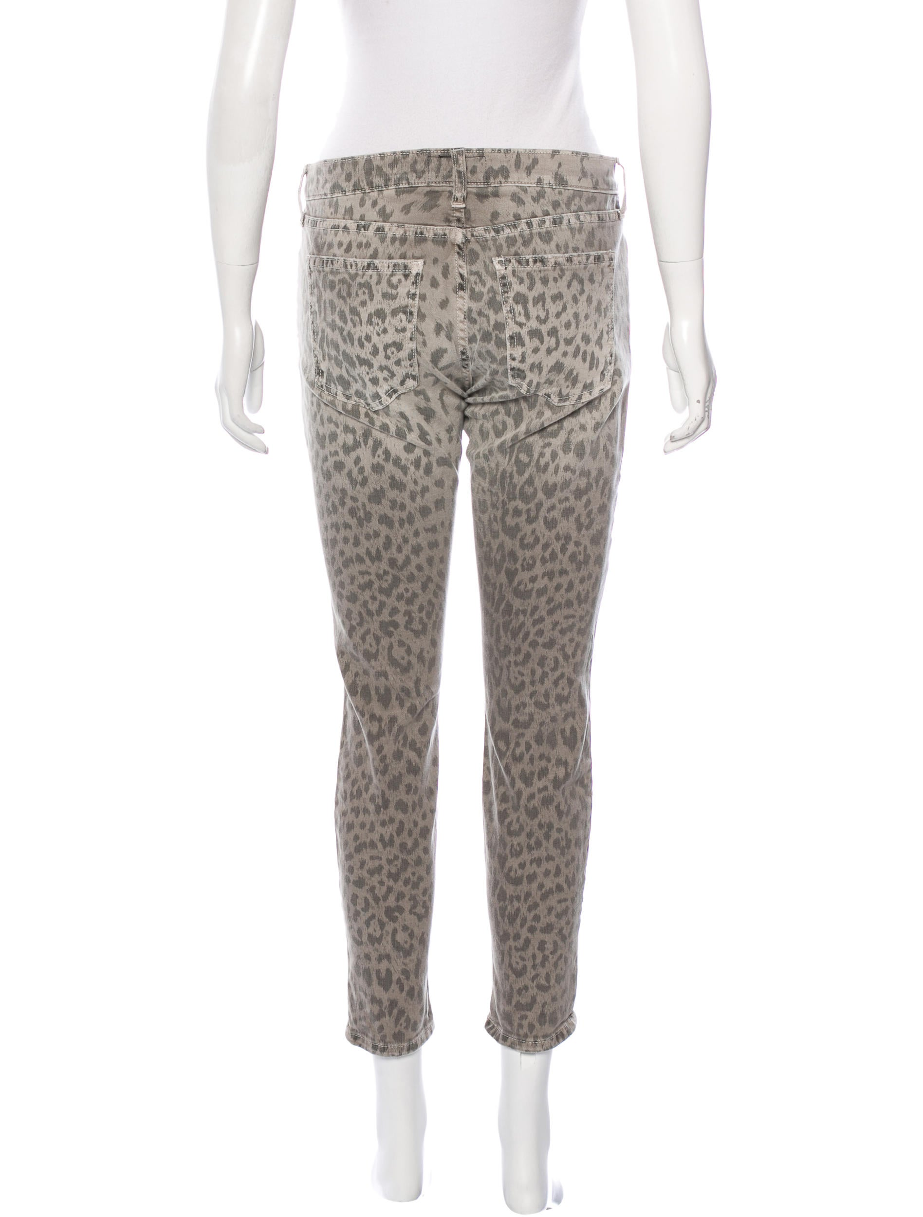 Leopard Print Jeans Trend For Fall It was a little while ago when Current/Elliott made leopard print trend in the denim world, but I am excited to tell you that for Fall , leopard print is back!