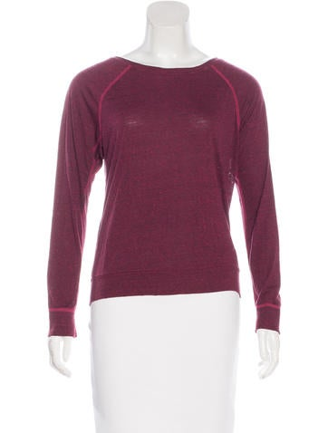 Current/Elliott Knit Long Sleeve Top None