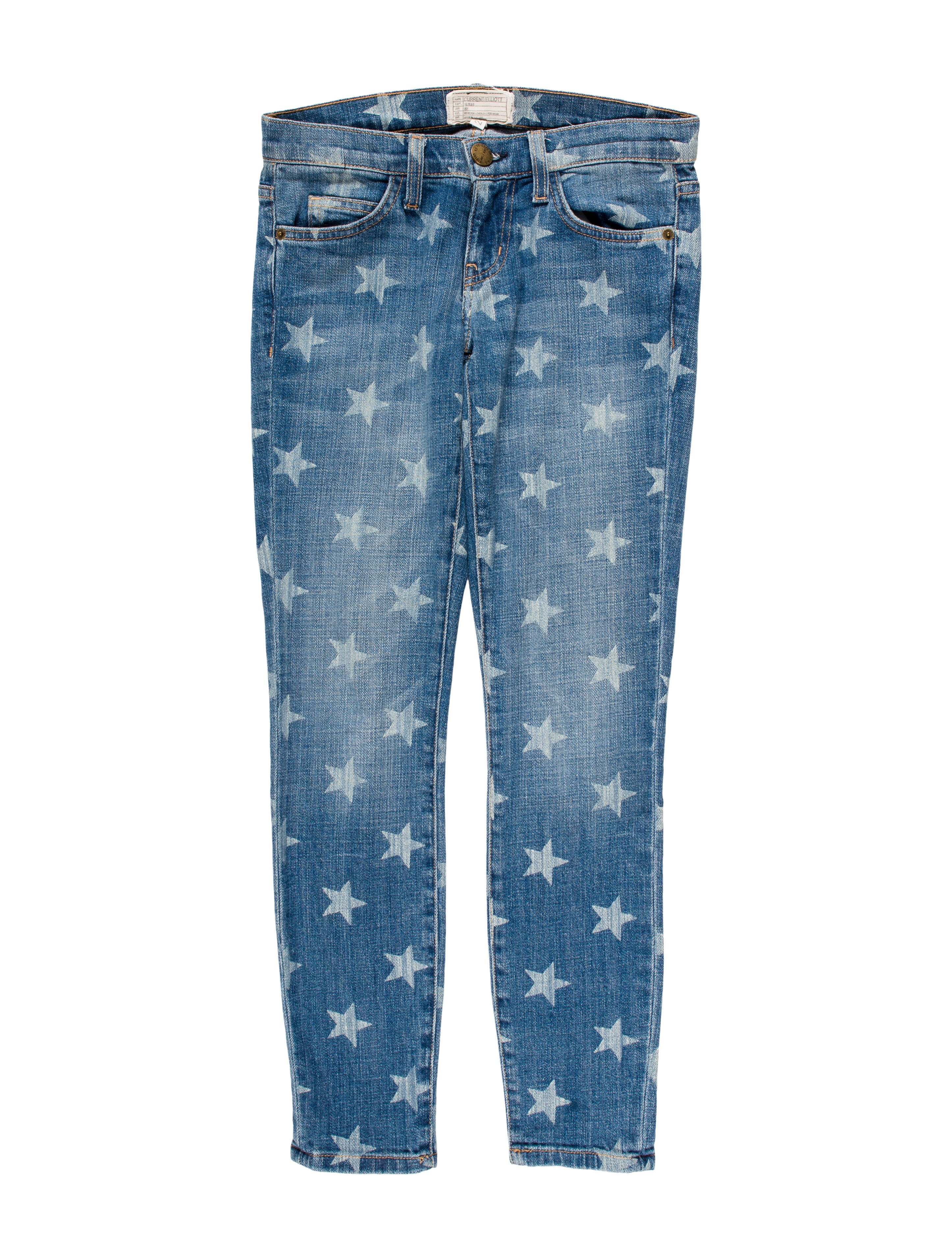 Contemporary Accessories Home Decor Current Elliott Star Print Skinny Jeans Clothing