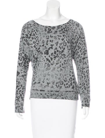 Current/Elliott Long Sleeve Knit Top None