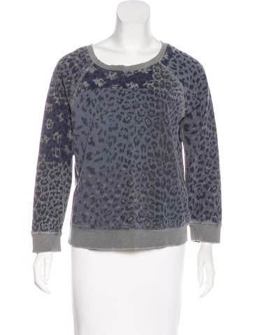 Current/Elliott Long Sleeve Knit Sweater None