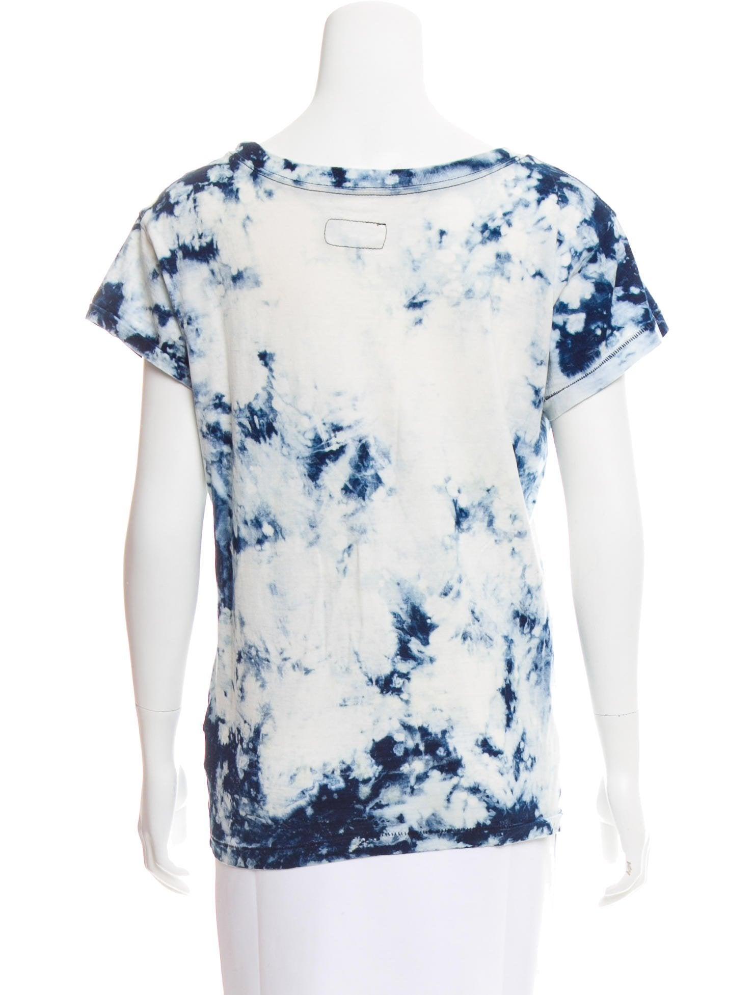 Current Elliott Tie Dye Short Sleeve T Shirt Clothing