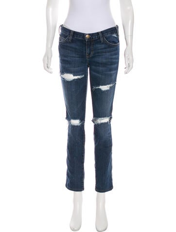 Loved Destroy Mid-Rise Jeans