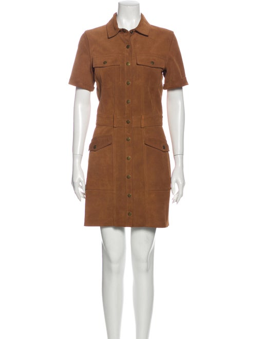 Current/Elliott Trucker Shirt Dress Mini Dress Bro