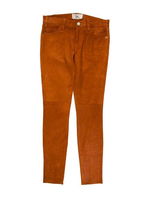 Current/Elliott Skinny Leg Pants Orange