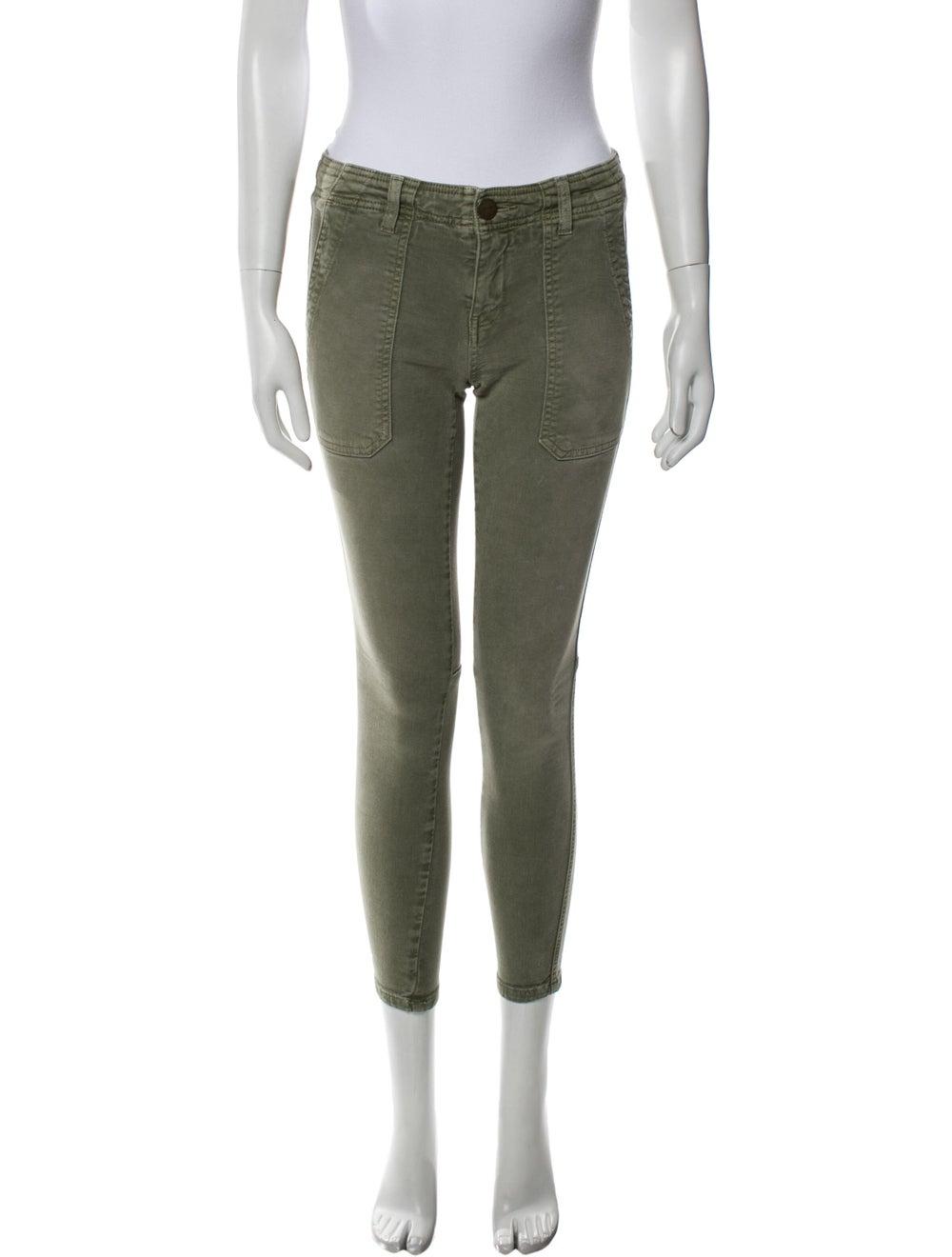 Current/Elliott Skinny Leg Pants Green - image 1
