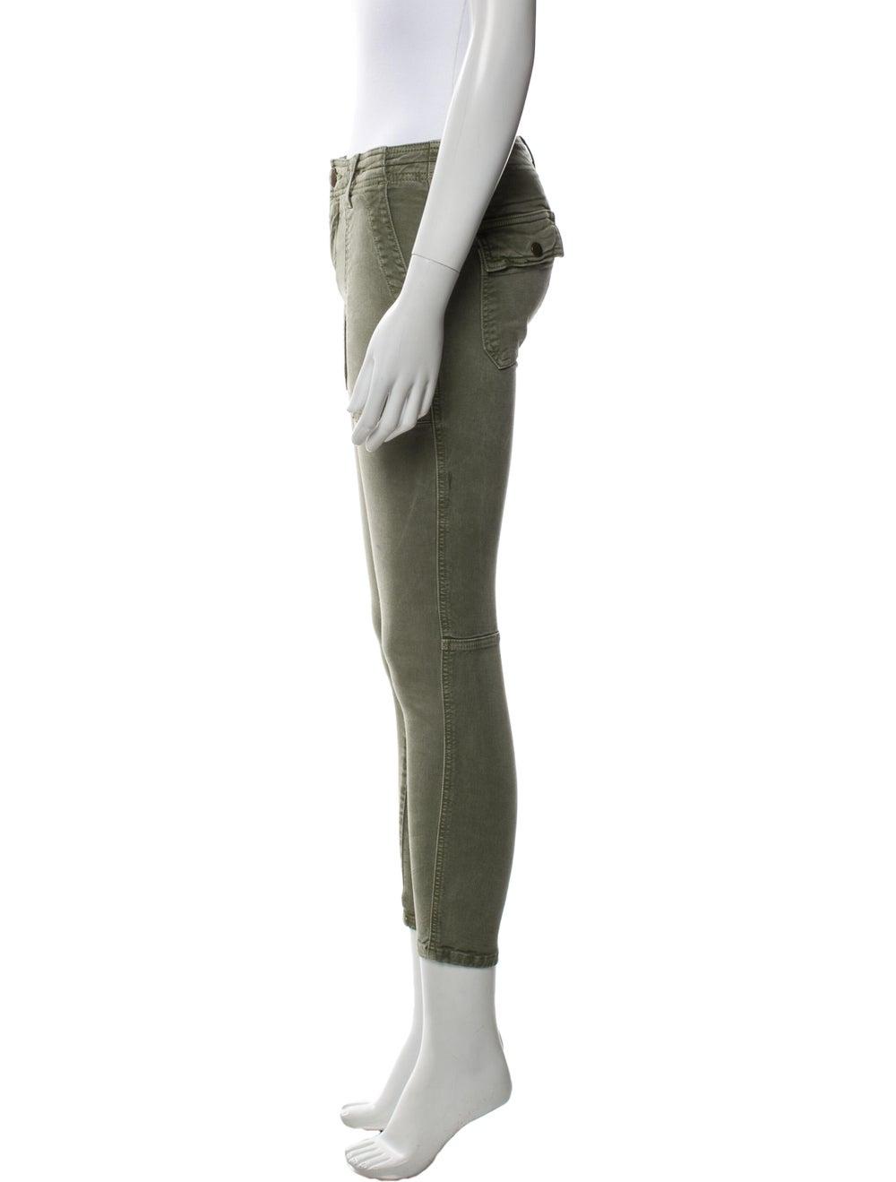 Current/Elliott Skinny Leg Pants Green - image 2