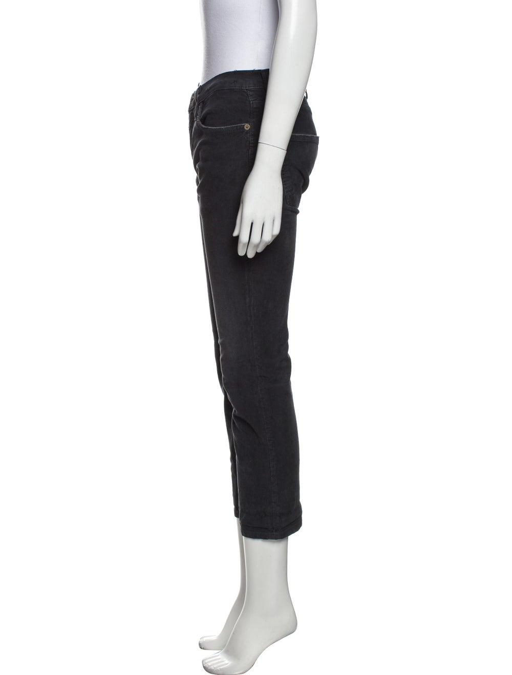 Current/Elliott Straight Leg Pants Green - image 2