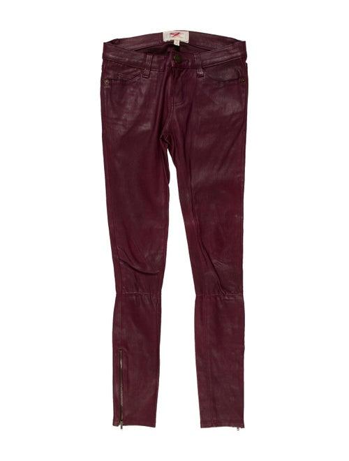 Current/Elliott Leather Skinny Leg Pants