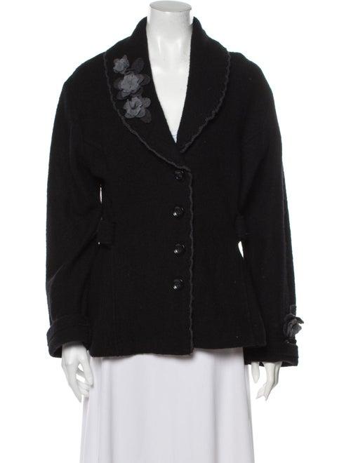 Cynthia Rowley Wool Jacket Wool