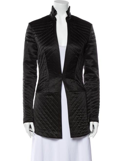Cynthia Rowley Silk Coat Black