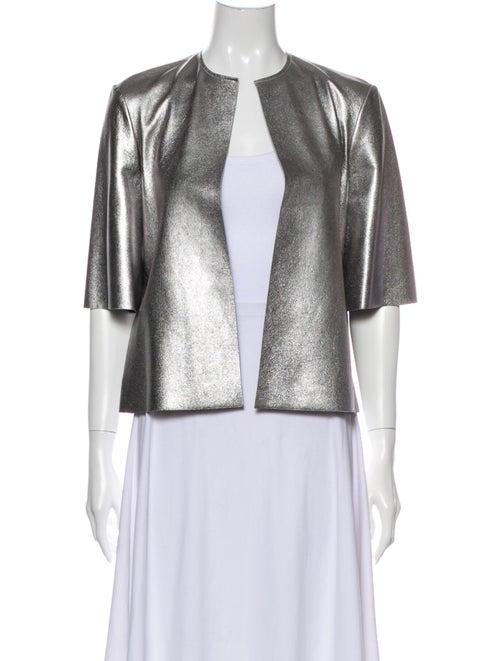 Cynthia Rowley Evening Jacket Silver