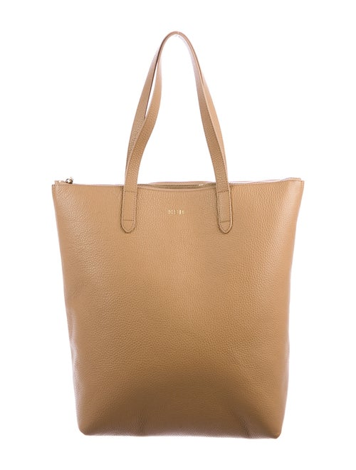 Cuyana Large Leather Tote Brown