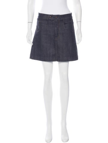 Citizens of Humanity Denim Mini Skirt None