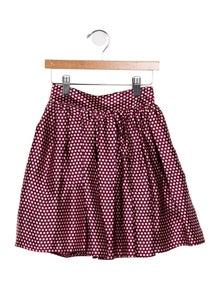 be036b8b5 Carolina Zapf. Girls' Silk Polka Dot ...