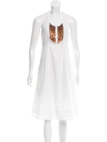 Day Birger et Mikkelsen Sleeveless Embellished Dress