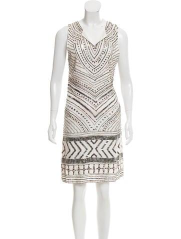 Day Birger et Mikkelsen Embellished Knee-Length Dress None